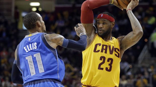 New challenge: Lebron James will need to adjust to the Cavs' playing style.
