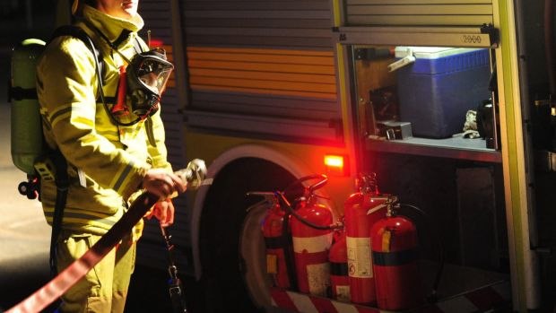 Firefighters were called to two property fires in the Mandurah area on Friday morning. File image.