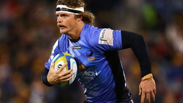 Badger boy: Nick Cummins playing for the Western Force.