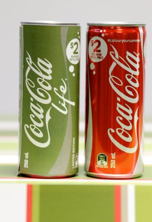 The recipe tweak suggests sales of Coke Life have fallen short of targets.