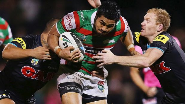 Free agent: Kirisome Auva'a could leave South Sydney.