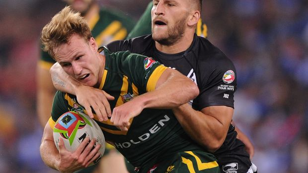 Fitness battle: Kangaroos five-eighth Daly Cherry-Evans.