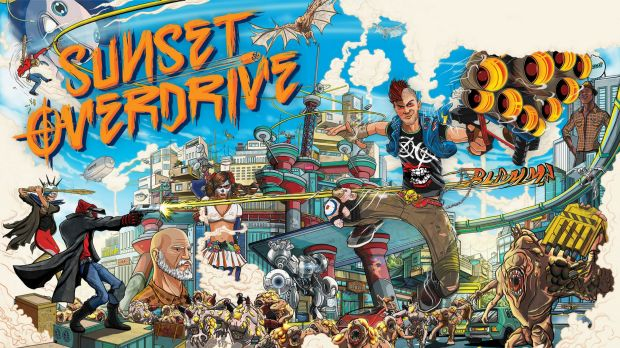 <i>Sunset Overdrive</i>: Not your standard AAA shooter.