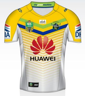 Canberra Raiders away jersey for 2015.