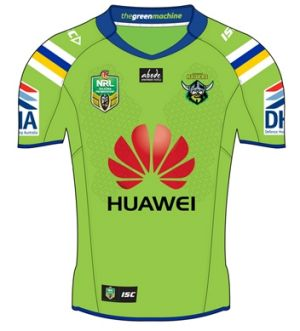 Canberra Raiders home jersey for 2015.