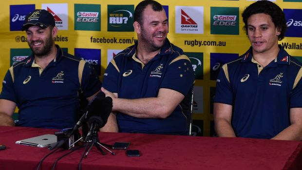 No distractions: Wallabies coach Michael Cheika.