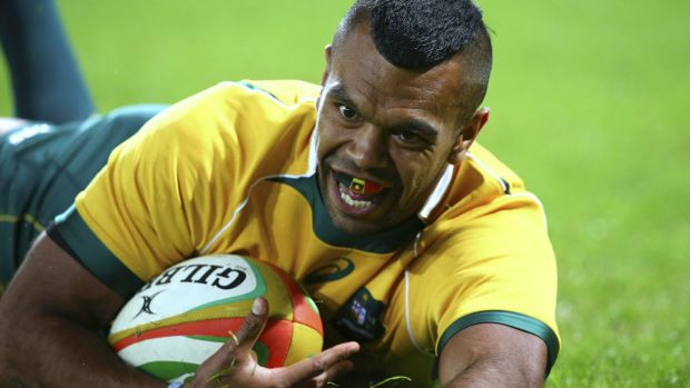 In limbo: Kurtley Beale's contract will expire before the end of the year.