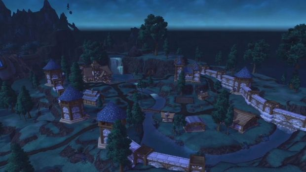 The new <i>World of Warcraft</i> release allows players to build home bases.