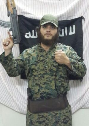 Khaled Sharrouf left Australia to fight for the Islamic State group.