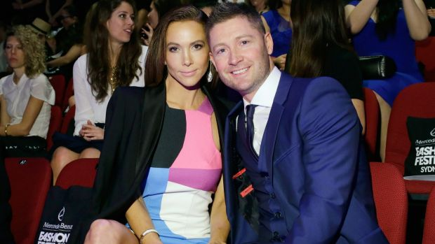 Kyly and Michael Clarke, great Australians who sometimes display 'basic' qualities.