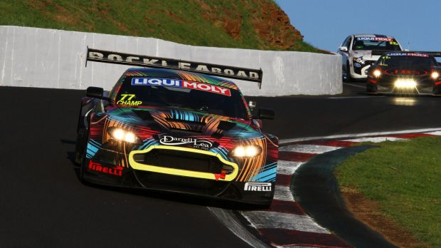 There will be two Aston Martins in the 2015 Bathurst 12-Hour.