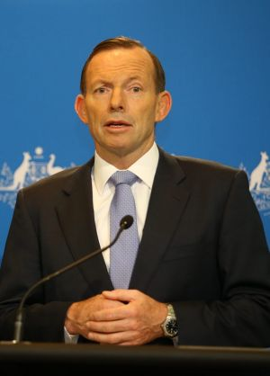 Open to co-operation with Beijing: Prime Minister Tony Abbott.