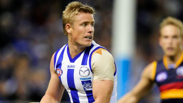 Liam Anthony is one of eight players let go by North Melbourne.