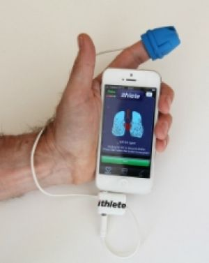 iThlete, a phone application device used for sporting teams such as the Canberra Raiders, to measure heart rate variability.
