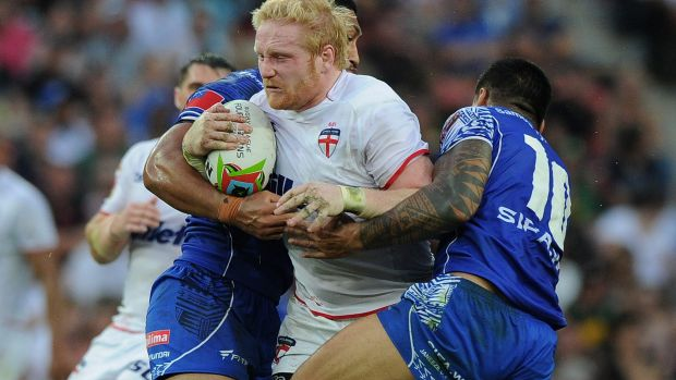 By contrast, England are at their strongest in years, bolstered by NRL stars such as James Graham.
