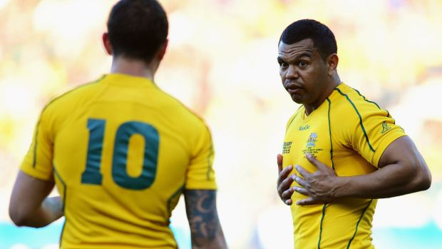 """""""You've just got to go through it and take it for what it is and learn from it"""": Quade Cooper on Kurtley Beale."""