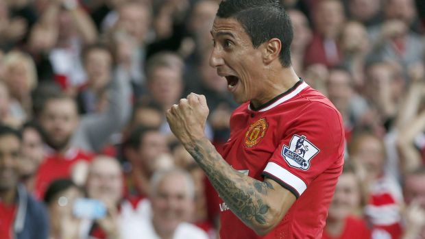 """Once you're on the field, you forget all that. Everyone is fighting for the shirt"": Manchester United's Angel Di Maria."