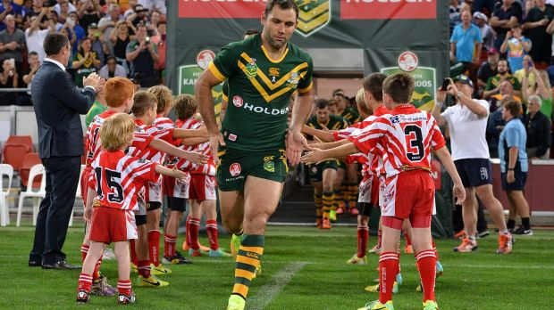 """""""It just seems there is a little bit more tradition between Australia and England"""": Cameron Smith."""