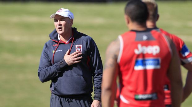 Gearing up for the season: Dragons coach Paul McGregor.