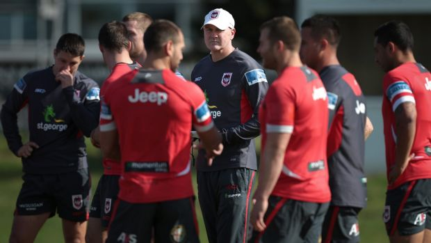 Limited capacity: Dragons coach Paul McGregor.