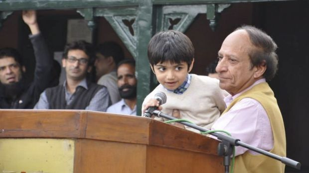Sammy speaks: Sammy Sumbal, aged 8, son of Fayyaz Sumbal, a Pakistani police officer killed in a suicide bombing in ...