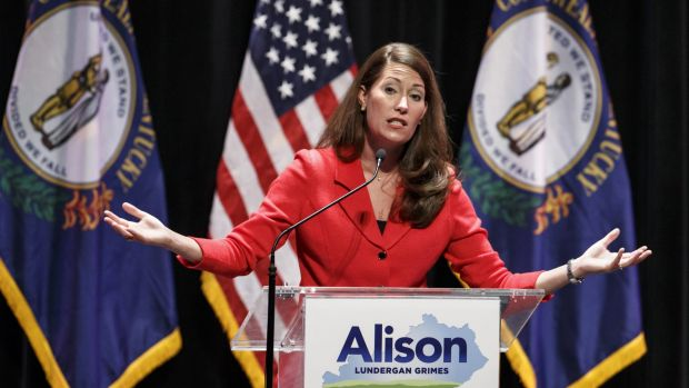 Few answers: candidates like Alison Lundergan Grimes, running as a Democratic candidate for the US Senate in Kentucky, ...