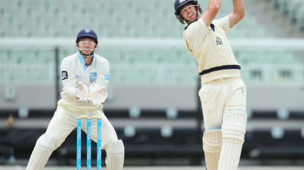 Potential keeper: Peter Nevill of New South Wales.