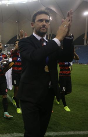 Wanderers coach Tony Popovic, who spent some time at Canberra FC.