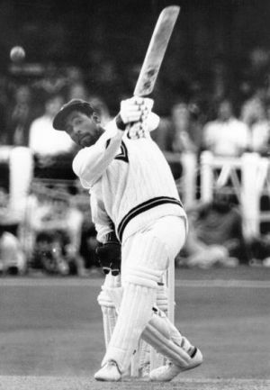 Those were the days: West Indies great Viv Richards at Trent Bridge in 1976.
