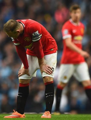 Manchester United's troubled run continued at the Etihad Stadium