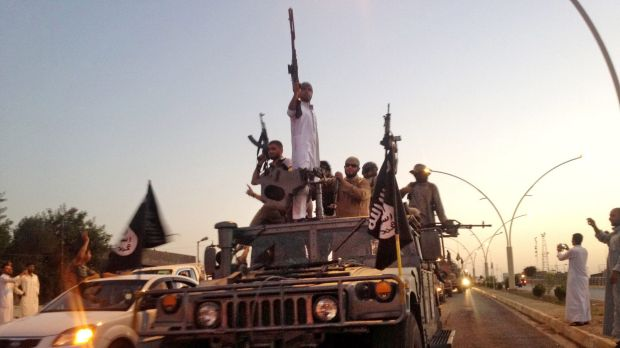 The string of victories for Islamic State has slowed.