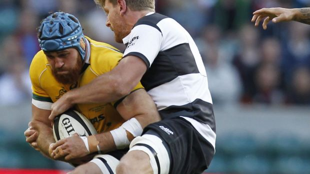 Workhorse: James Horwill was singled out for praise by new coach Michael Cheika.