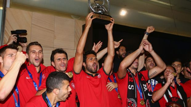 Champions: Nikolai Topor-Stanley gives the crowd what it wants.