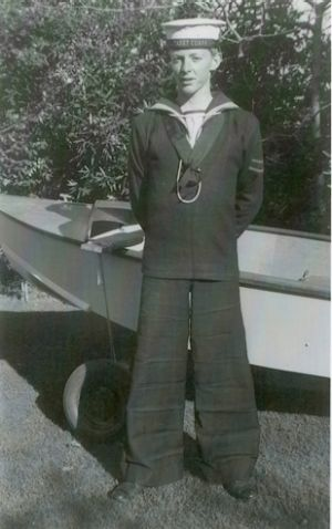 Uniform approach: Peter  Thorne , aged 14, in Sea Cadet uniform.