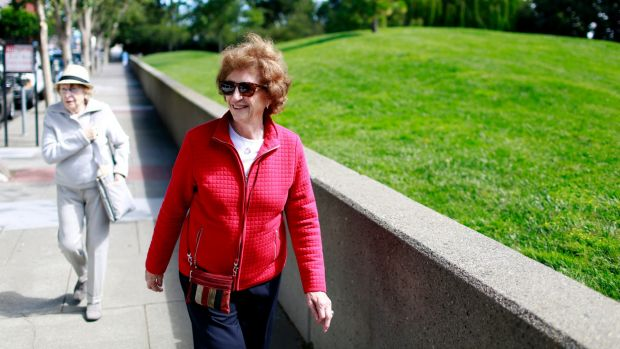 Joan Rees, 79, endured a slow recovery from a fractured pelvis