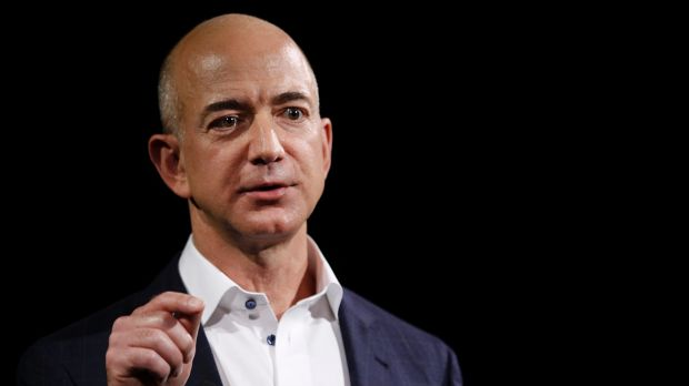 Amazon.com Inc founder Jeff Bezos lost $US3.7 billion on Monday as the world's largest online retailer fell 5.8 per cent.