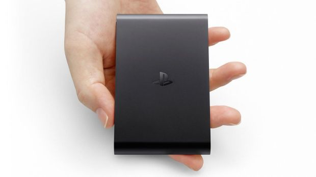 PlayStation TV is a palm-sized set-top box that doesn't include built-in digital tuners for watching live television.