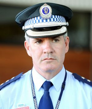 Detective Inspector Bryson Anderson was fatally stabbed during a siege at a semi-rural property.