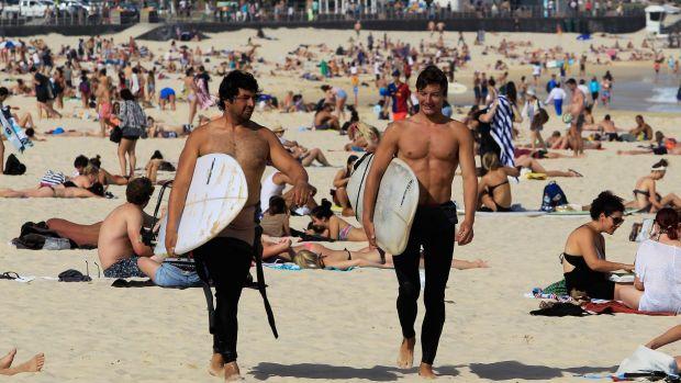 Bondi Beach may get busy as Sydneysiders seek relief.