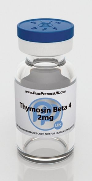 Banned: Thymosin Beta 4.