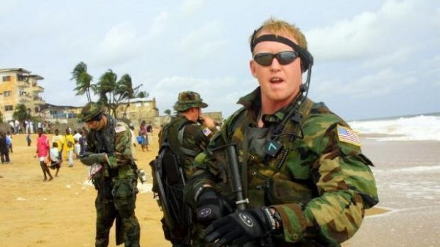 Threatened: Former SEAL Rob O'Neill, who says he killed Osama Bin Laden.