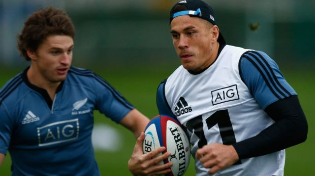 Sonny Bill Williams has kept his starting spot for crunch game against England.