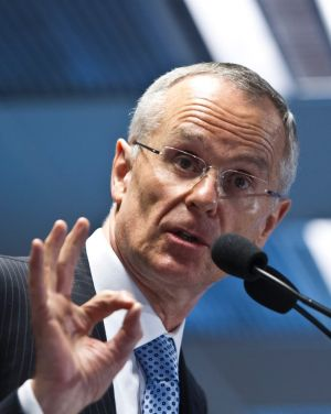 A-Okay: Rod Sims said Telstra's involvement was ''a natural fi't'.