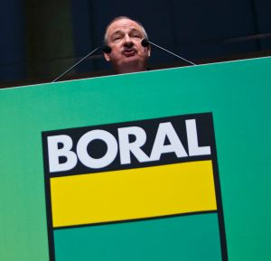 Shares in Boral were placed in a trading halt on Monday after it announced a $3.5b deal to buy Headwaters Corp.