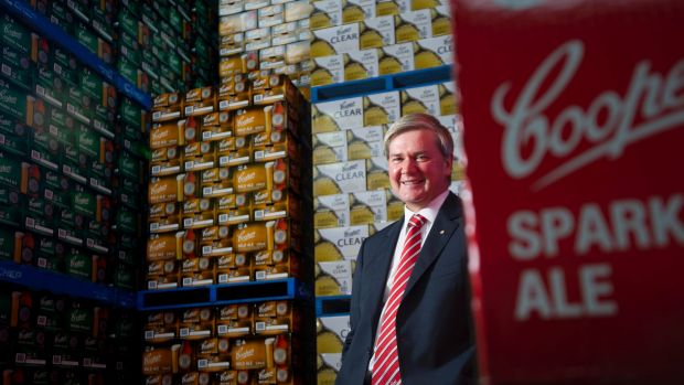 """We are growing against a ­declining market."": Coopers managing director Dr Tim Cooper."