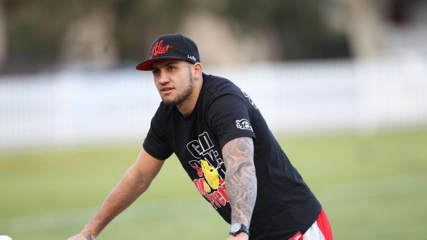Plenty to prove: Blake Ferguson is set to return to the NRL after missing the entire 2014 season.