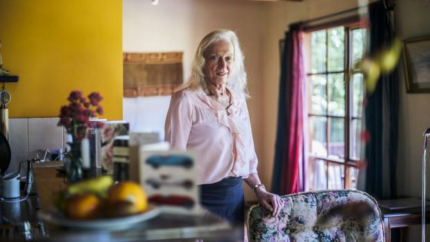 My way: Robyn Thorne at home in Gundaroo.