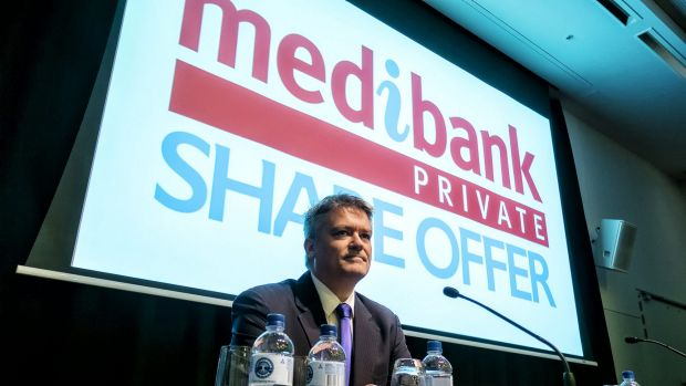 Healthy response: Finance Minister Mathias Cormann reports significant interest in the Medibank IPO.