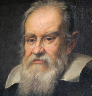 A portrait of astronomer Galileo Galilei by Dutch painter Justus Sustermans.