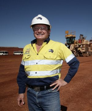 Mining magnante Andrew Forrest is the chairman of Fortescue Metals Group.